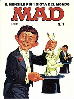 Go to MAD Magazine #1 1985 • Italy • 2nd Edition