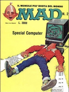Go to MAD Magazine #9 • Italy • 2nd Edition