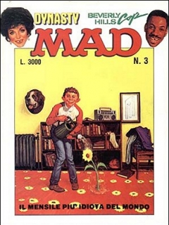 Go to MAD Magazine #3 1985 • Italy • 2nd Edition