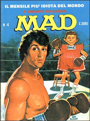 MAD Magazine #4 • Italy • 2nd Edition