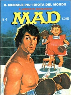 Go to MAD Magazine #4 1985 • Italy • 2nd Edition