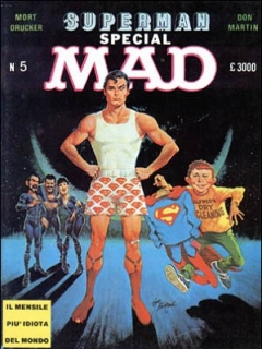 Go to MAD Magazine #12 • Italy • 2nd Edition