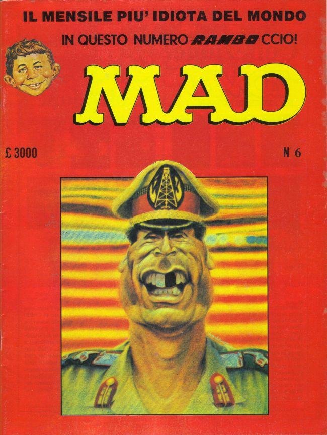 MAD Magazine #6 • Italy • 2nd Edition