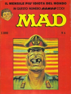 Go to MAD Magazine #6 1985 • Italy • 2nd Edition