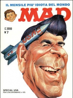 Go to MAD Magazine #14 • Italy • 2nd Edition