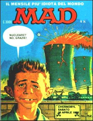 MAD Magazine #8 1985 • Italy • 2nd Edition