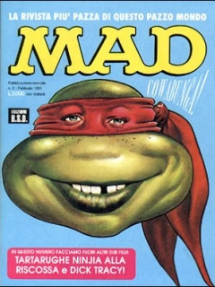 Go to MAD Magazine #3 • Italy • 3rd Edition