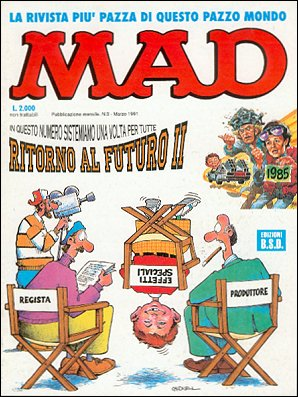 MAD Magazine #4 • Italy • 3rd Edition