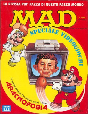 MAD Magazine #5 • Italy • 3rd Edition