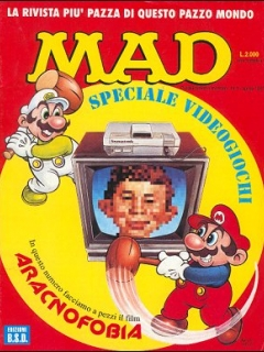 Go to MAD Magazine #5 • Italy • 3rd Edition