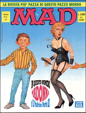 MAD Magazine #7 • Italy • 3rd Edition