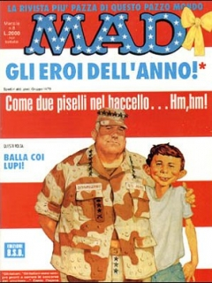 Go to MAD Magazine #9 • Italy • 3rd Edition