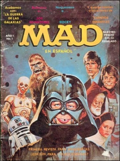 Go to MAD Magazine #1 • Mexico • 1st Edition - Lisa