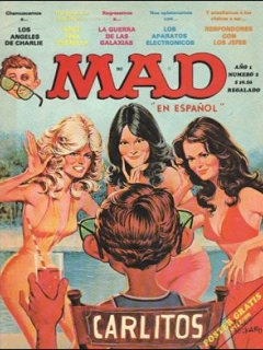 Go to MAD Magazine #2 • Mexico • 1st Edition - Lisa