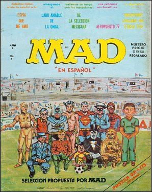 MAD Magazine #3 • Mexico • 1st Edition - Lisa