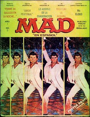 MAD Magazine • Mexico • 1st Edition - Lisa