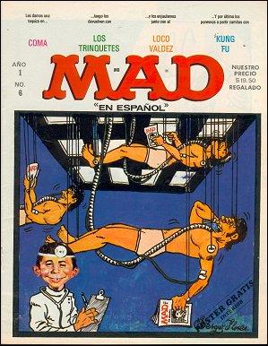 MAD Magazine #6 • Mexico • 1st Edition - Lisa