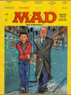 Go to MAD Magazine #7 • Mexico • 1st Edition - Lisa