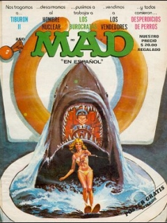 Go to MAD Magazine #8 • Mexico • 1st Edition - Lisa
