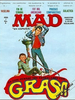 Go to MAD Magazine #9 • Mexico • 1st Edition - Lisa