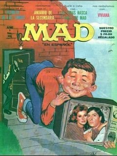 MAD Magazine #10 • Mexico • 1st Edition - Lisa