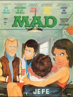 Go to MAD Magazine #11 • Mexico • 1st Edition - Lisa