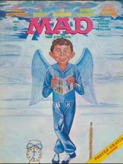 Go to MAD Magazine #12 • Mexico • 1st Edition - Lisa