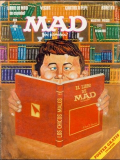 Go to MAD Magazine #15 • Mexico • 1st Edition - Lisa