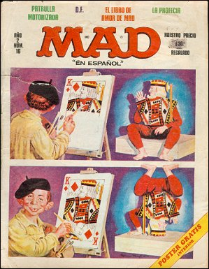 MAD Magazine #16 • Mexico • 1st Edition - Lisa