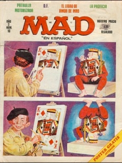 Go to MAD Magazine #16 • Mexico • 1st Edition - Lisa