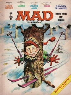 Go to MAD Magazine #17 • Mexico • 1st Edition - Lisa