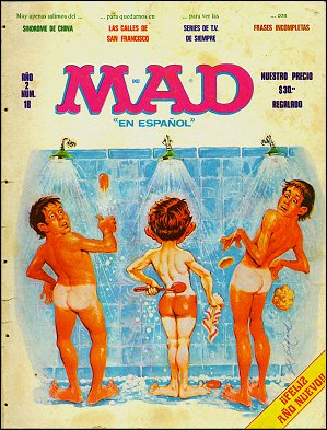 MAD Magazine #18 • Mexico • 1st Edition - Lisa