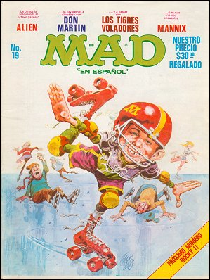 MAD Magazine #19 • Mexico • 1st Edition - Lisa