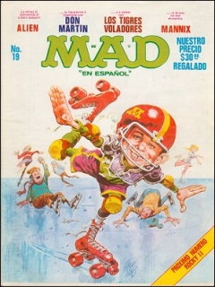 Go to MAD Magazine #19 • Mexico • 1st Edition - Lisa