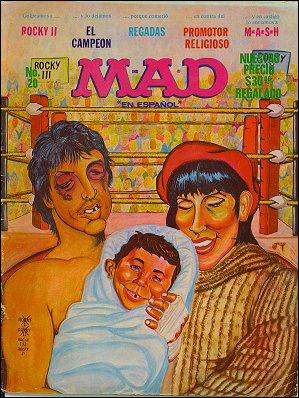 MAD Magazine #20 • Mexico • 1st Edition - Lisa