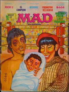 Go to MAD Magazine #20 • Mexico • 1st Edition - Lisa
