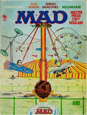 MAD Magazine #21 • Mexico • 1st Edition - Lisa