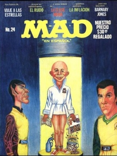 Go to MAD Magazine #24 • Mexico • 1st Edition - Lisa