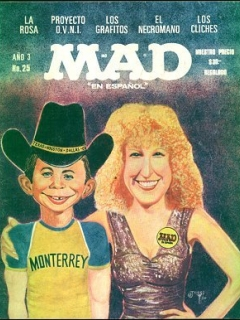 Go to MAD Magazine #25 • Mexico • 1st Edition - Lisa