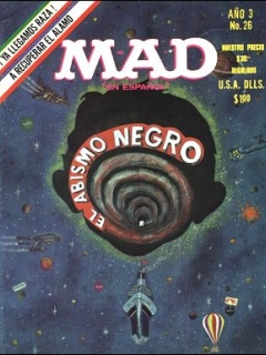 Go to MAD Magazine #26 • Mexico • 1st Edition - Lisa