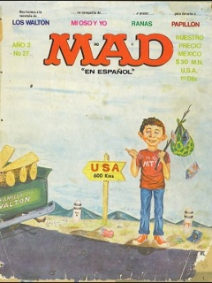 Go to MAD Magazine #27 • Mexico • 1st Edition - Lisa