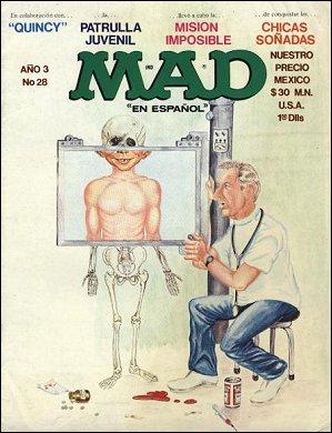 MAD Magazine #28 • Mexico • 1st Edition - Lisa