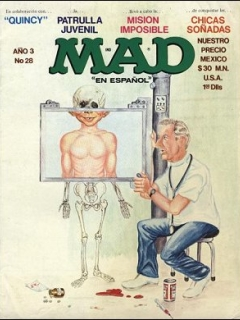 Go to MAD Magazine #28 • Mexico • 1st Edition - Lisa