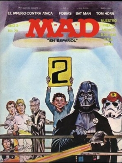 Go to MAD Magazine #29 • Mexico • 1st Edition - Lisa