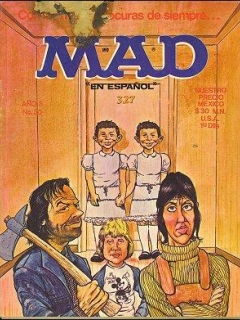 Go to MAD Magazine #30 • Mexico • 1st Edition - Lisa