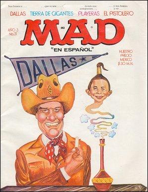 MAD Magazine #31 • Mexico • 1st Edition - Lisa