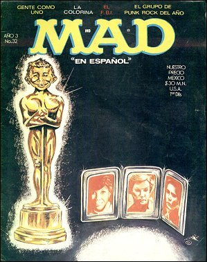 MAD Magazine #32 • Mexico • 1st Edition - Lisa