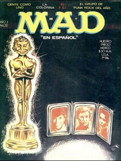 Go to MAD Magazine #32 • Mexico • 1st Edition - Lisa