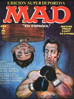 Go to MAD Magazine #33 • Mexico • 1st Edition - Lisa