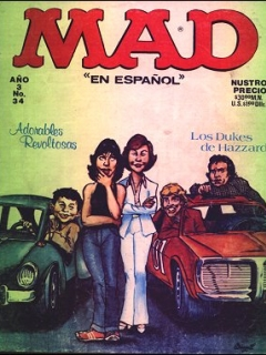 Go to MAD Magazine #34 • Mexico • 1st Edition - Lisa